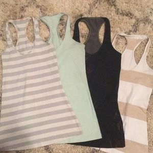 Lululemon Cool Racerback Bundle 4
